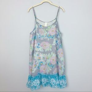 ANTHROPOLOGIE by ELOISE Floral Swing Dress- Large